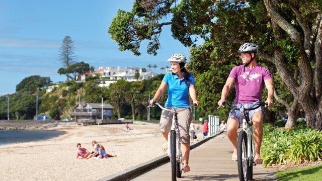 Cycling At Kohi Beach