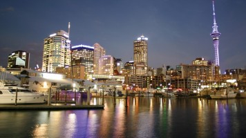 Auckland Viaduct Harbour Waterfront Image