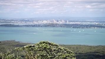 Hauraki Gulf from Rangitoto