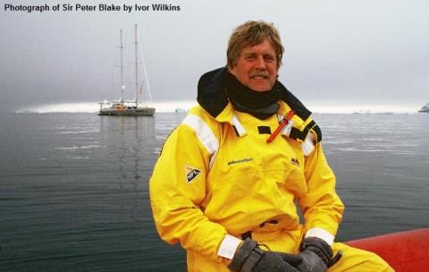 Sir Peter Blake and Seamaster